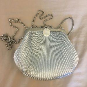 Small vintage silver purse